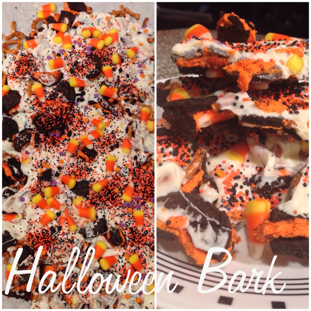 Chocolate Almond Bark Dunmore Candy Kitchen: In The Kitchen – Halloween Bark