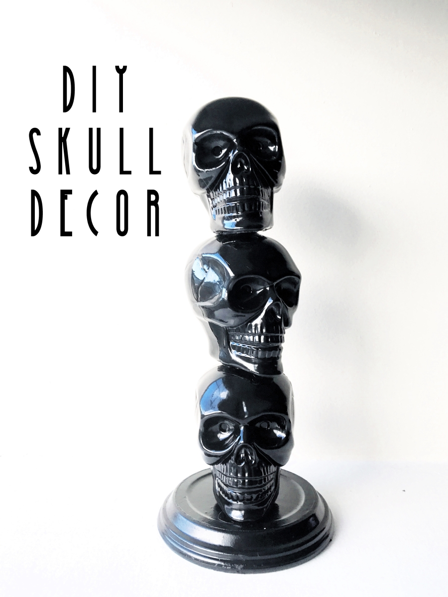 DIY Skull Decor